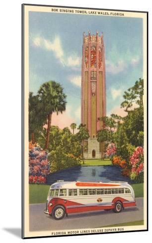 Bok Singing Tower, Lake Wales, Florida--Mounted Art Print