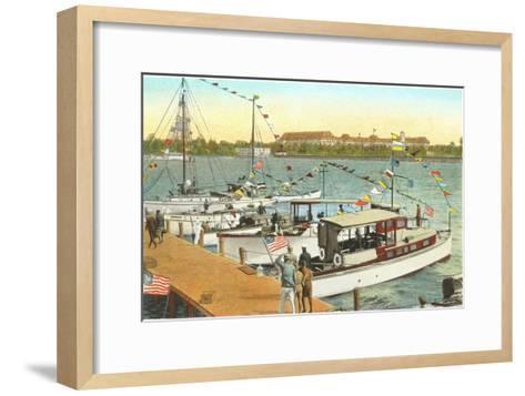 Pier, West Palm Beach, Florida--Framed Art Print