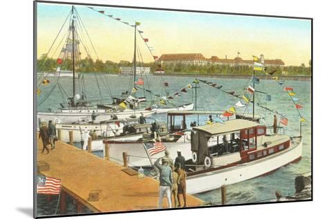 Pier, West Palm Beach, Florida--Mounted Art Print