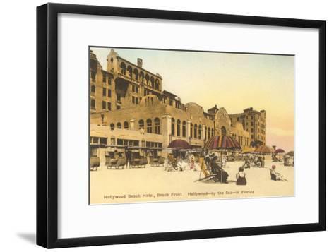 Hollywood Beach Hotel, Hollywood, Florida--Framed Art Print