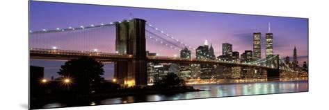 Brooklyn Bridge New York Ny, USA--Mounted Photographic Print