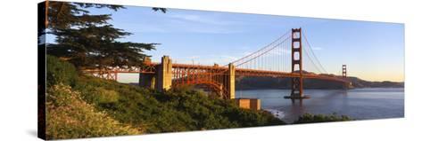 California, San Francisco, Golden Gate Bridge--Stretched Canvas Print