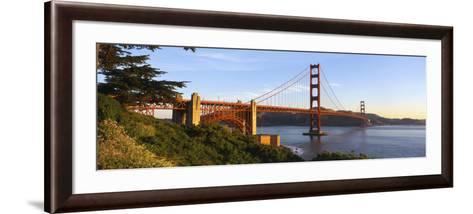 California, San Francisco, Golden Gate Bridge--Framed Art Print