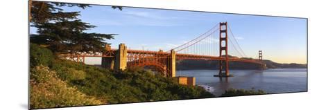 California, San Francisco, Golden Gate Bridge--Mounted Photographic Print