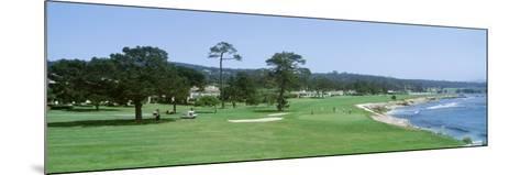 Pebble Beach Golf Course Ca, USA--Mounted Photographic Print