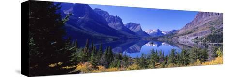 St Mary Lake Glacier National Park, MT--Stretched Canvas Print