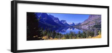 St Mary Lake Glacier National Park, MT--Framed Art Print