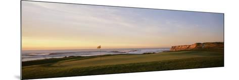 Golf Course on the Coast, Half Moon Bay, California, USA--Mounted Photographic Print