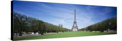 The Eiffel Tower Paris France--Stretched Canvas Print