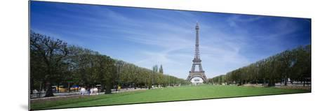 The Eiffel Tower Paris France--Mounted Photographic Print