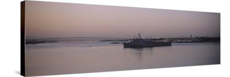 Coronado Bridge, San Diego, California, USA--Stretched Canvas Print