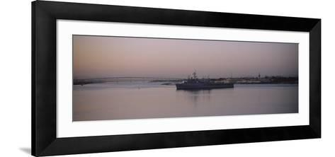 Coronado Bridge, San Diego, California, USA--Framed Art Print