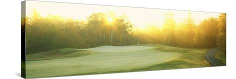 Sunrise Golf Course, ME--Stretched Canvas Print