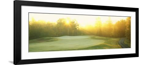 Sunrise Golf Course, ME--Framed Art Print