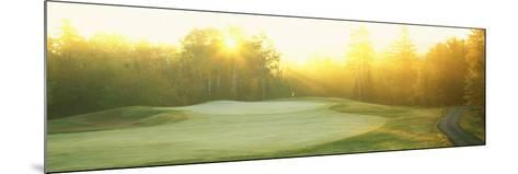 Sunrise Golf Course, ME--Mounted Photographic Print