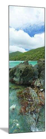 Rocks in the Sea, Jumbie Bay, St John, Us Virgin Islands--Mounted Photographic Print