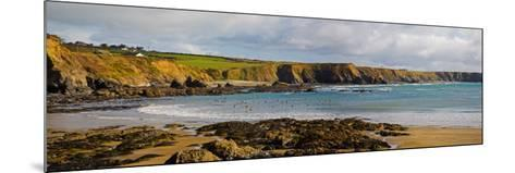 The Copper Coast, from Boatstrand Harbour, Co Waterford, Ireland--Mounted Photographic Print