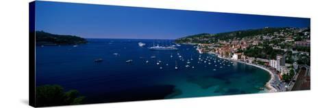 Villefranche Monaco--Stretched Canvas Print