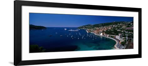 Villefranche Monaco--Framed Art Print