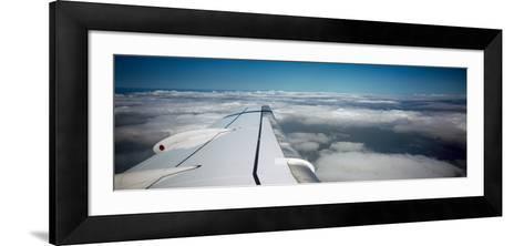 Airplane Wing--Framed Art Print