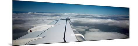 Airplane Wing--Mounted Photographic Print
