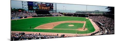 High Angle View of a Stadium, Pac Bell Stadium, San Francisco, California, USA--Mounted Photographic Print