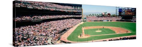 High Angle View of a Stadium, Pac Bell Stadium, San Francisco, California, USA--Stretched Canvas Print