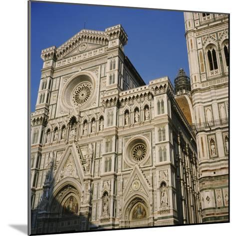 Low Angle View of a Cathedral, Duomo Santa Maria Del Fiore, Florence, Italy--Mounted Photographic Print