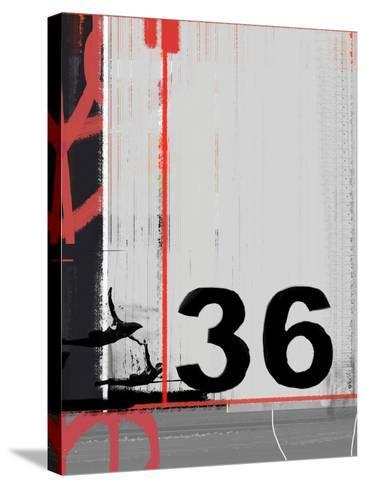 Number 36-NaxArt-Stretched Canvas Print