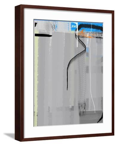 Blue Zu-NaxArt-Framed Art Print
