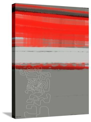 Abstract Red 1-NaxArt-Stretched Canvas Print