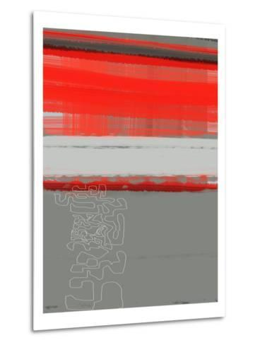 Abstract Red 1-NaxArt-Metal Print