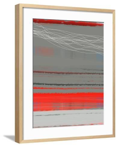 Abstract Red 2-NaxArt-Framed Art Print