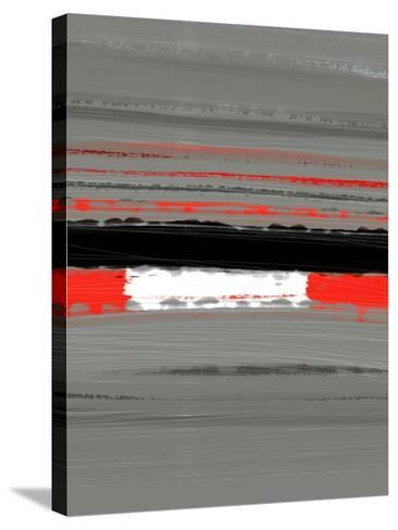 Abstract Red 4-NaxArt-Stretched Canvas Print