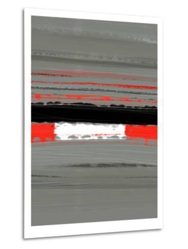 Abstract Red 4-NaxArt-Metal Print