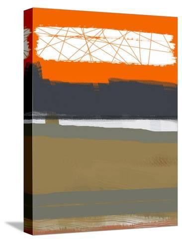 Abstract Orange 1-NaxArt-Stretched Canvas Print
