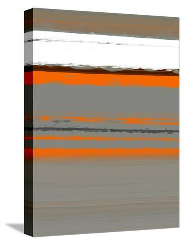 Abstract Orange 2-NaxArt-Stretched Canvas Print