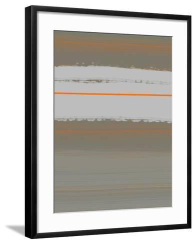 Abstract Orange 4-NaxArt-Framed Art Print