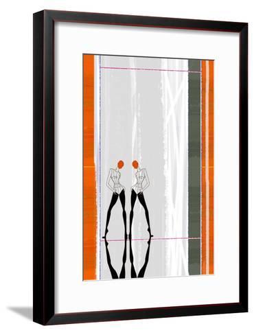 Mirror Reflection-NaxArt-Framed Art Print
