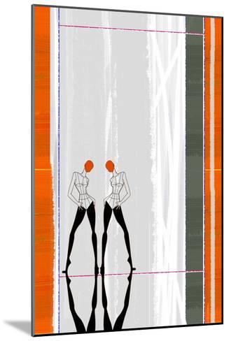 Mirror Reflection-NaxArt-Mounted Art Print