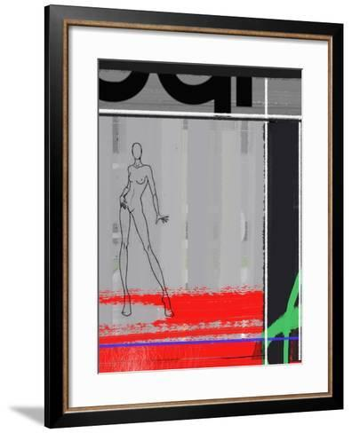 Pencil Fashion-NaxArt-Framed Art Print