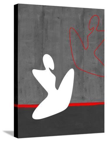 White Girl-NaxArt-Stretched Canvas Print
