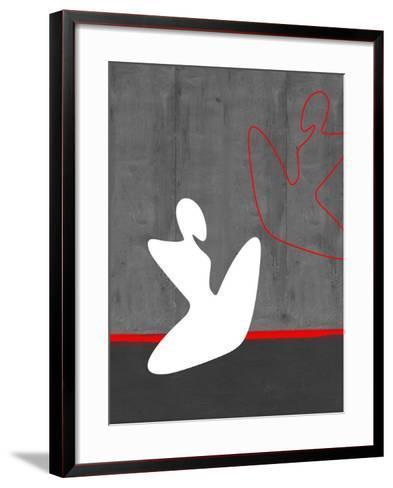 White Girl-NaxArt-Framed Art Print