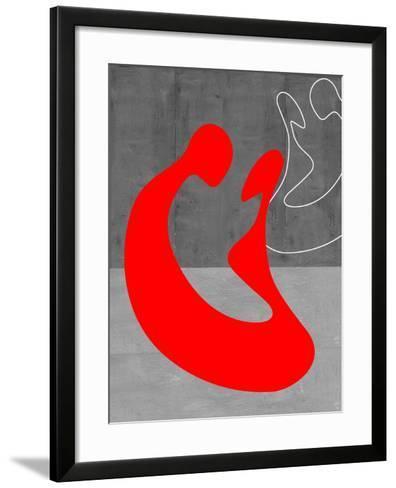 Red Couple-NaxArt-Framed Art Print