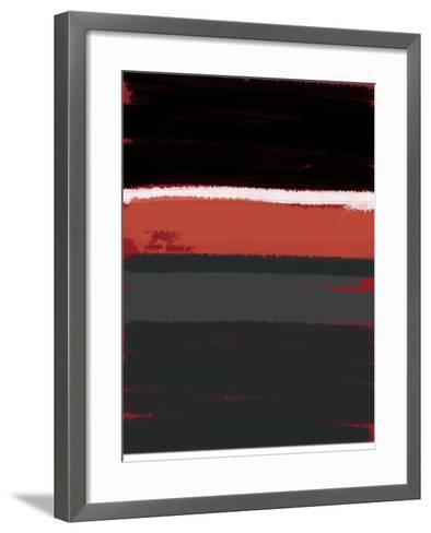 White Stripes-NaxArt-Framed Art Print