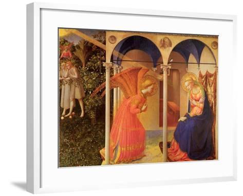 The Annunciation, 1400-Fra Angelico-Framed Art Print