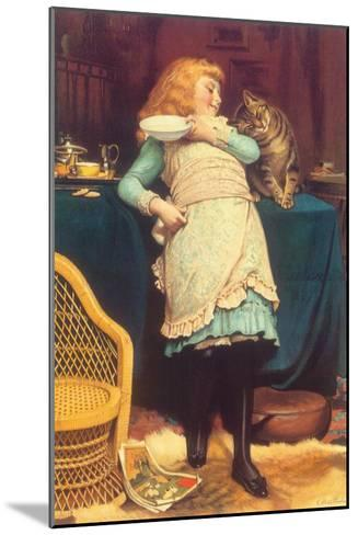 Coaxing Is Better Than Teasing, 1883-Charles Burton Barber-Mounted Giclee Print
