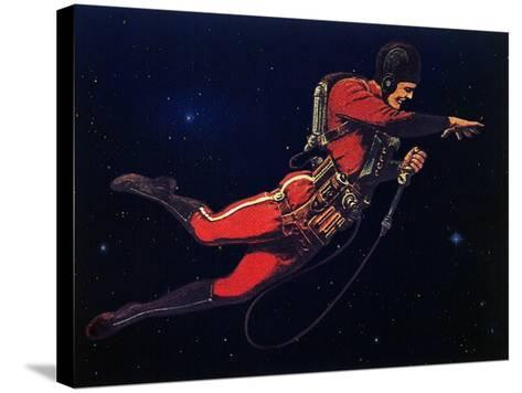 Sci Fi - Gravitron Jet Pack, 1928-Frank R^ Paul-Stretched Canvas Print