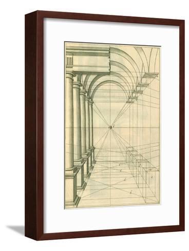 View of Roman Gallery, 1751-Henricus Hondius-Framed Art Print