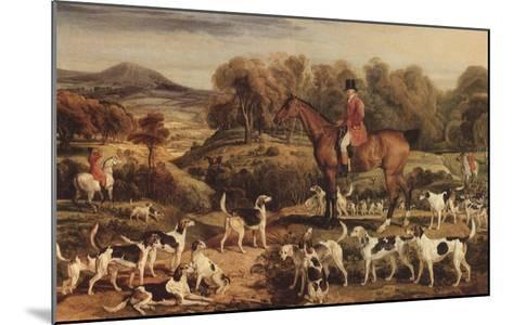 Ralph Lambton and His Hounds, 1820-James Ward-Mounted Giclee Print
